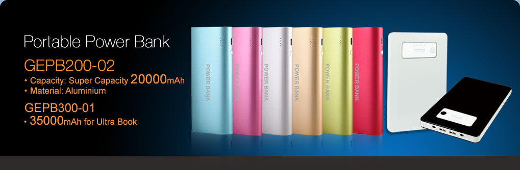 2000mAh Power bank,35000mAh power bank