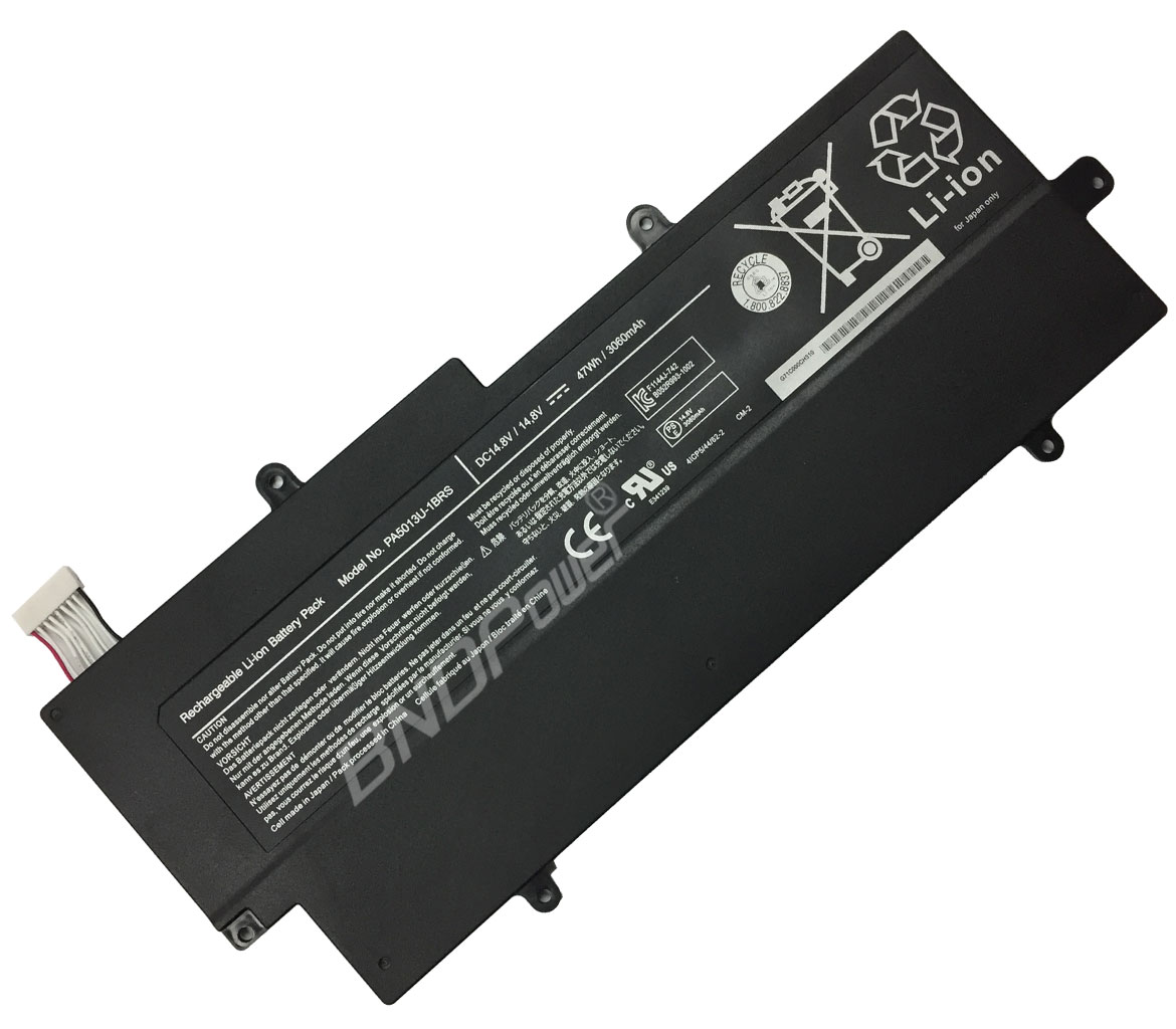 TOSHIBA Laptop Battery Model No PA5013 Laptop Battery