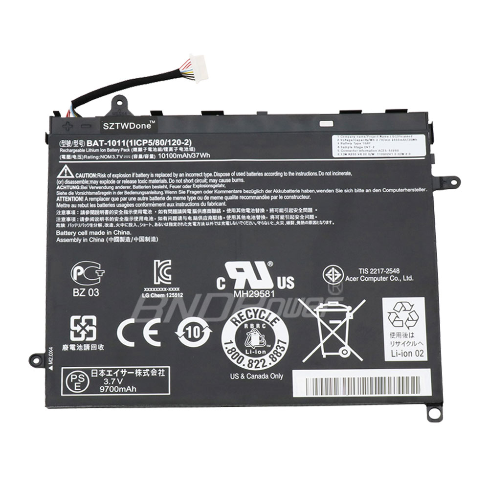 ACER Laptop Battery Iconia A510  Laptop Battery