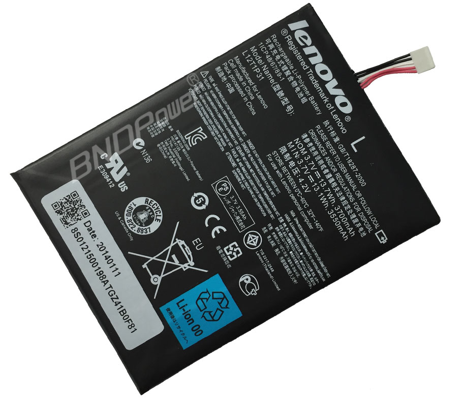 LENOVO Laptop Battery A2107  Laptop Battery